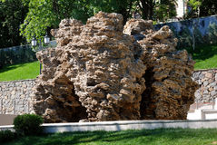 Großer Steinkalkstein Stockbilder