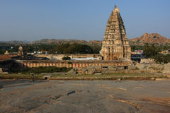 Großer Tempel in Südindien Lizenzfreie Stockfotografie