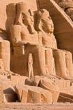 Großer Tempel von Abu Simbel - Ägypten Lizenzfreie Stockfotografie