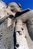 Großer Tempel von Amon Ägypten Stockbilder