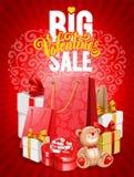Großer Valentinsgrußverkauf Lizenzfreie Stockfotografie