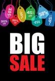 Großer Verkauf Stockbild