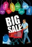 Großer Verkauf Lizenzfreies Stockbild