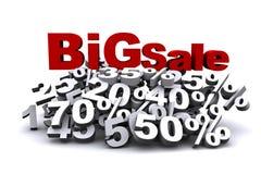 Großer Verkauf Lizenzfreies Stockfoto
