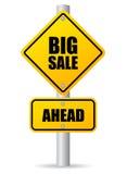 Großer Verkauf voran Lizenzfreies Stockfoto