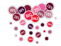 Großer Verkaufs-Hintergrund lizenzfreie abbildung