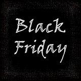 Großer Verkaufsvektor Black Fridays lizenzfreies stockbild