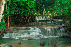 Großer Wasserfall in Kanchanaburi Lizenzfreie Stockfotografie