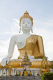 Großer weißer Buddha lizenzfreies stockfoto