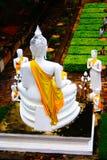 Großer weißer Buddha Stockfotografie