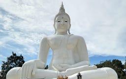 Großer weißer Buddha Lizenzfreie Stockfotografie