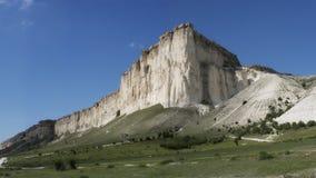 Großer weißer Felsen lizenzfreies stockbild