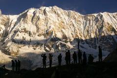 Großer weißer Rocky Mountains Lizenzfreie Stockfotos