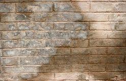 Großer Zement-konkretes Ziegelstein-Block-Wand-Muster Stockbilder