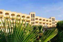 Großes ägyptisches Hotel stockbild
