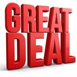 Großes Abkommen Lizenzfreies Stockfoto