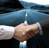 Großes Abkommen voran Lizenzfreies Stockbild