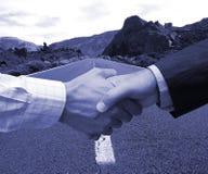 Großes Abkommen voran stockfotografie