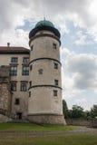 Großes altes Schloss in Polen Lizenzfreie Stockfotos
