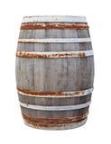 Großes altes Weinfaß Stockfoto