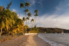 Großes Anse-d'Arlet, Martinique Stockfotos