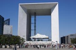 Großes arche in Paris, Frankreich Lizenzfreies Stockfoto