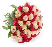 Großes Bündel Rosen stockbilder