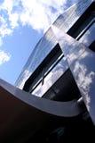 Großes Bürohaus Stockbilder