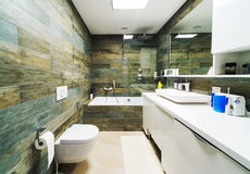 Großes Badezimmer Lizenzfreie Stockfotos