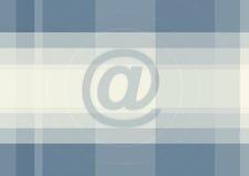 Großes Blau am Zeichenhintergrund Lizenzfreie Stockfotos