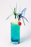 Großes blaues Cocktail stockfotografie