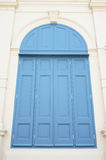 Großes blaues Fenster Lizenzfreies Stockfoto