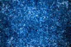 Großes blaues Salz der Beschaffenheit Stockbild