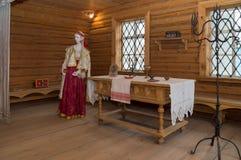 Großes Boldino Pushkin-Museumsausstellung von Geschichten Stockfotos