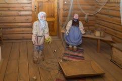 Großes Boldino Pushkin-Museumsausstellung von Geschichten Lizenzfreie Stockbilder