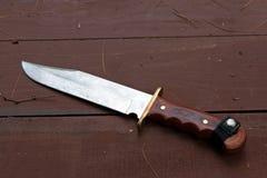Großes Bowie Messer stockbilder