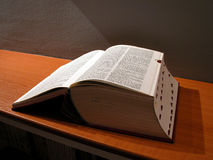 Großes Buch Lizenzfreies Stockbild