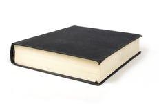 Großes Buch mit schwarzer Abdeckung Lizenzfreies Stockbild