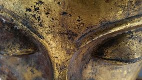 Großes Buddha-Auge der Nahaufnahme Lizenzfreies Stockfoto