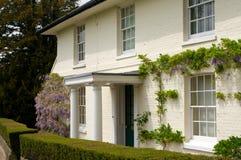 Großes englisches viktorianisches Haus Lizenzfreies Stockfoto