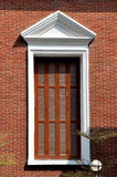 Großes Fenster in geometrischem Lizenzfreies Stockfoto