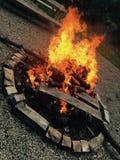 Großes Feuer Stockbild