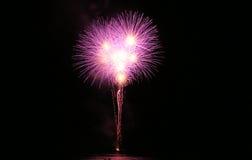 Großes Feuerwerk Stockfoto