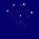 Großes Feuerwerk - Illustration Lizenzfreie Stockfotografie