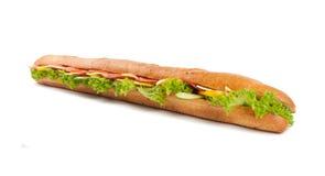 Großes französisches Sandwich Lizenzfreies Stockbild