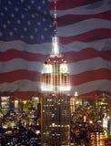 Großes Gebäude USA Stockfotografie
