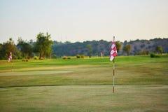 Großes golfe Feld in Portugal Lizenzfreies Stockbild