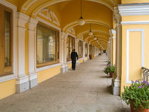 Großes Gostiny Dvor, St Petersburg, Russland Lizenzfreies Stockfoto