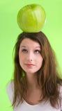 Großes grünes appple Lizenzfreie Stockfotografie