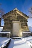 Großes Grab-Stein-Gebäude Stockfoto